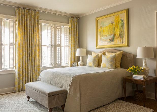 Transitional Bedroom by Kathryn J. LeMaster Art & Design