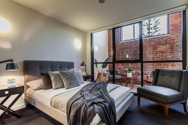 Industrial Bedroom by Putragraphy