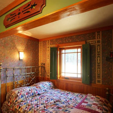 Craftsman Bedroom by G. Christianson Construction Inc