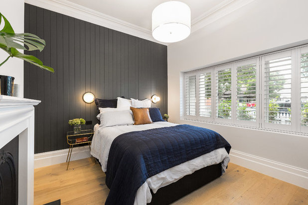 Contemporary Bedroom by First Avenue Homes