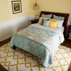 Transitional Bedroom by SH interiors