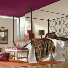 Traditional Bedroom by Sherwin-Williams