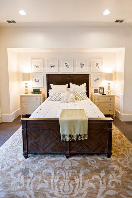 Tropical Bedroom by Glenn Layton Homes