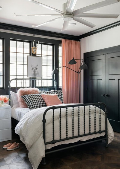 Transitional Bedroom by Authentic Reclaimed Flooring