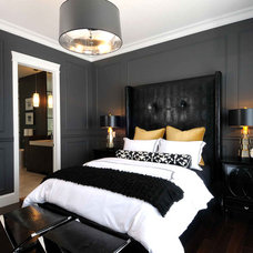 contemporary bedroom by Atmosphere Interior Design Inc.