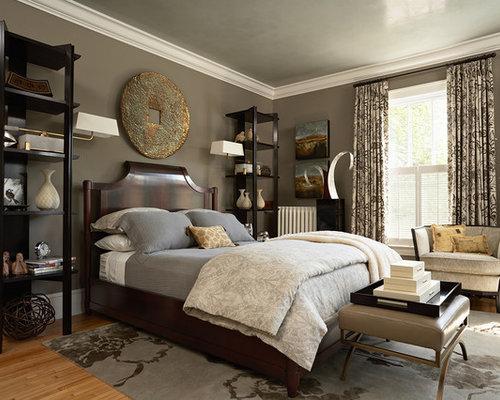 Tony taupe bedroom