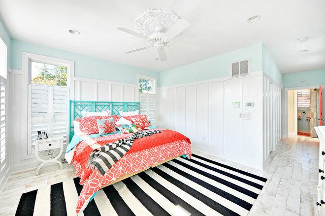 Beach Style Bedroom by Echelon Custom Homes
