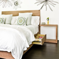 Contemporary Bedroom by Mark Hickman Homes