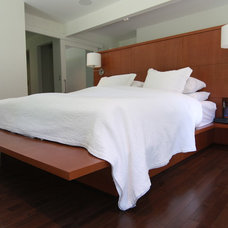 Contemporary Bedroom by Arts Custom Woodcrafting Inc.