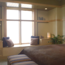 Contemporary Bedroom by Kaufman Construction Design and Build