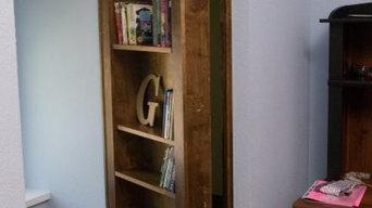 Hidden Bookcase for Secret Passages