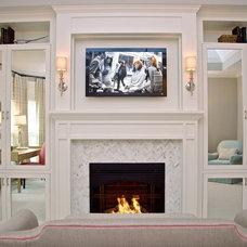 Contemporary Bedroom by CSR Interiors Inc.