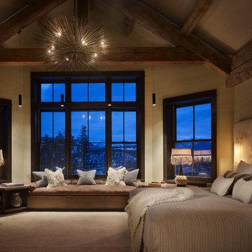 High Alpine Ranch Bedroom