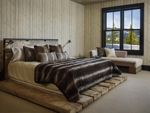 Rustic Bedroom by LKID