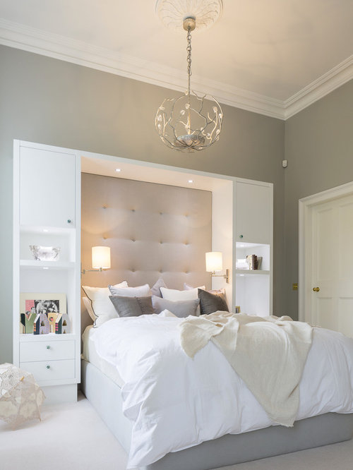 Contemporary bedroom design ideas remodels photos houzz for Contemporary guest bedroom ideas