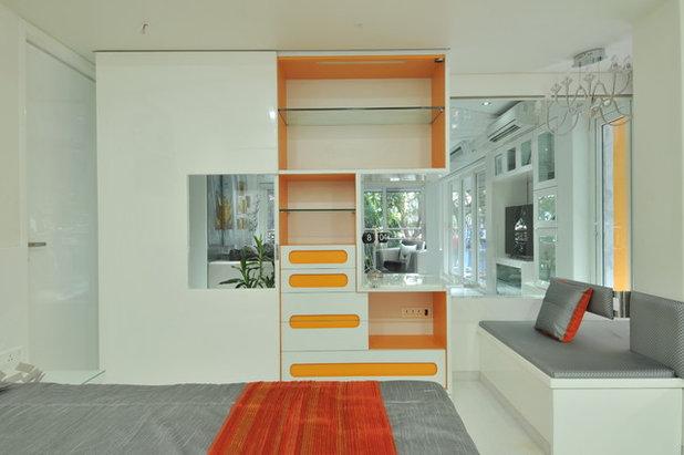 Contemporary Bedroom by Sonali shah