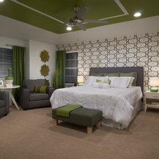 Contemporary Bedroom by TRIO Environments