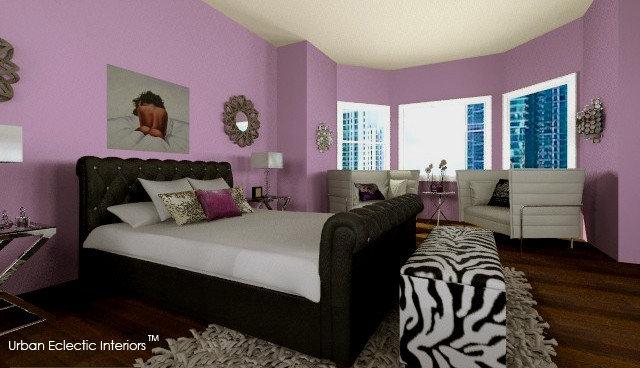 Eclectic Bedroom by Urban Eclectic Interiors