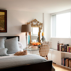 eclectic bedroom by Wesley-Wayne Interiors, LLC