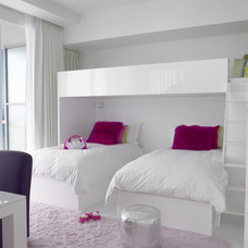 Contemporary Bedroom by Millennium Cabinetry