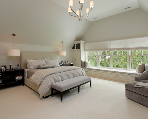 Light gray carpeting houzz - Average cost to carpet a bedroom ...