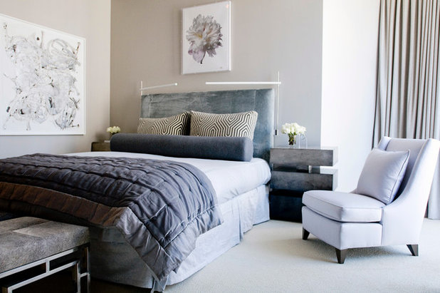 Contemporary Bedroom by The Englander Building Company