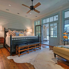 Farmhouse Bedroom by Stephen B. Chambers Architects, Inc.