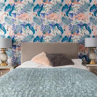 Bohemian bedroom in London.