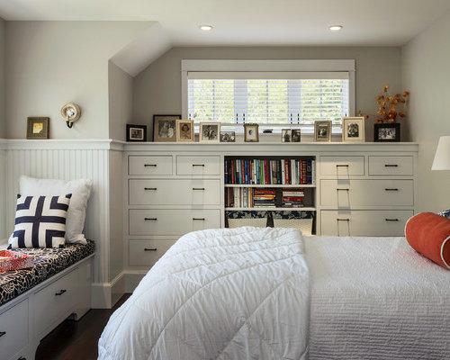 lit sous fen tre photos et id es d co. Black Bedroom Furniture Sets. Home Design Ideas