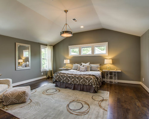 Medium Sized Master Bedroom Design Ideas, Renovations & Photos
