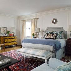 Mediterranean Bedroom by Melanie Coddington