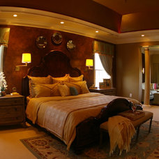 Traditional Bedroom by Phase Five Interiors