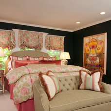 Eclectic Bedroom by House of Ruby Interior Design
