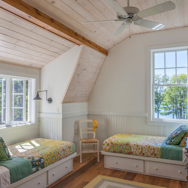 Pickled Knotty Pine Design Ideas, Pictures, Remodel and Decor