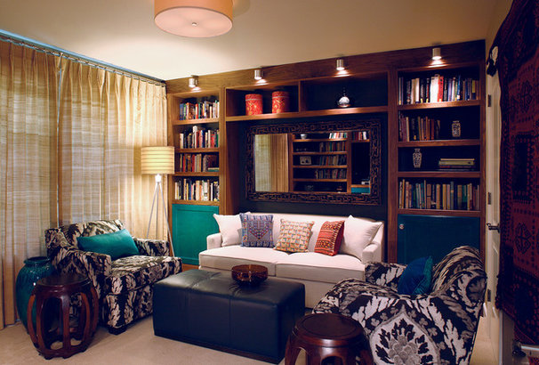 Eclectic Bedroom by SRM Architecture and Interiors