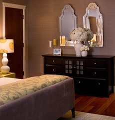 traditional bedroom by Kimball Starr Interior Design