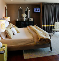 contemporary bedroom by Kimball Starr Interior Design