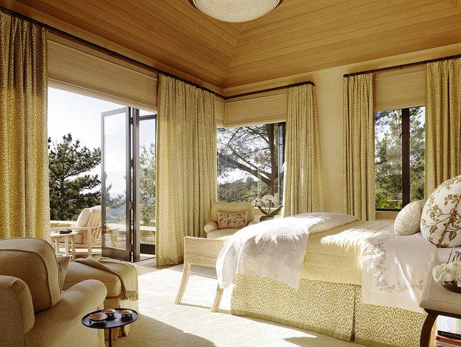 Mediterranean Bedroom by Tucker & Marks