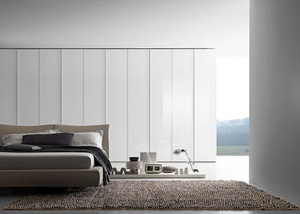 Contemporary Bedroom by Eurolife Kitchens Wardrobes Architectural Joinery