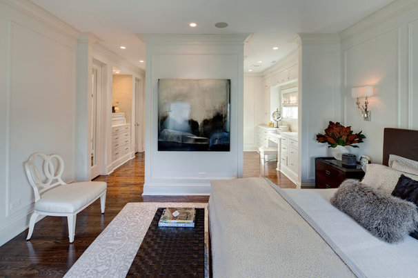 Transitional Bedroom by Buckingham Interiors + Design LLC
