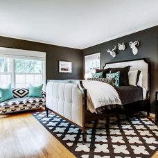 Contemporary Bedroom by Carolina V. Gentry, RID