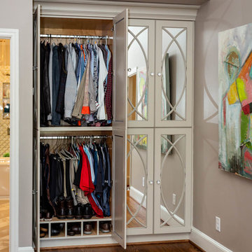 His Wardrobe's so SHE can have the whole closet!