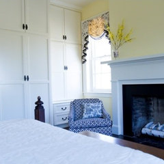 traditional bedroom by Merry Powell Interiors