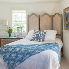 Farmhouse Bedroom by Lisa Teague Design Studios