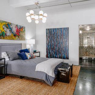 75 Beautiful Concrete Floor Bedroom Pictures & Ideas - January, 2021   Houzz