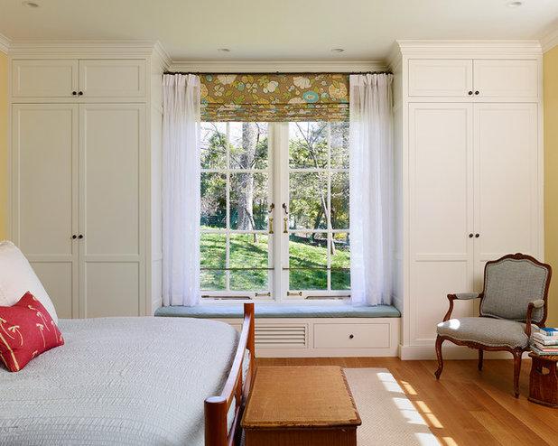 Farmhouse Bedroom by Kenneth Mitchell Architect, LLC