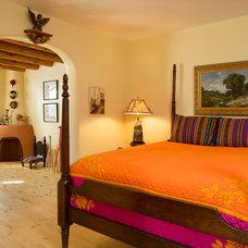 Southwestern Bedroom by Prull Custom Builders