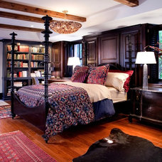 Traditional Bedroom by Lisa Wolfe Design, Ltd