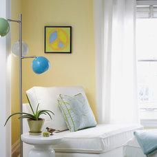 Contemporary Bedroom by Heidi Kerney Designs