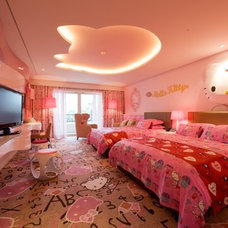 Asian Bedroom by Haus.O